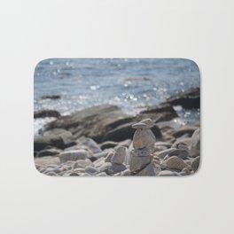Balancing Serenity Rocks Bath Mat