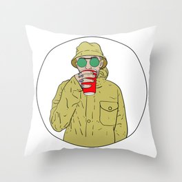 "Mac Miller R.I.P ""Juice"" Throw Pillow"