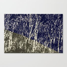 'Life is too much like a pathless wood ' Canvas Print