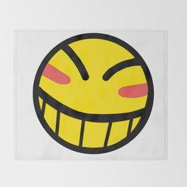 Cowboy Bebop - Hacker Smile Throw Blanket