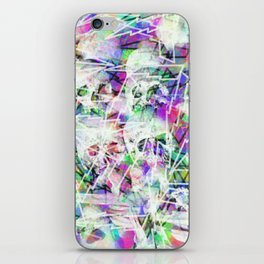 Rock n' roll skulls iPhone Skin