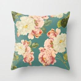 Flora temptation Throw Pillow