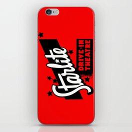 Starlite Drive In Red iPhone Skin