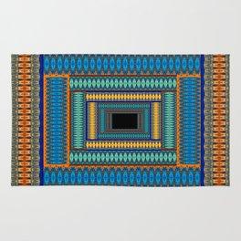 Soul Portal Geometric Print Rug
