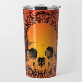 Skull Graphic Travel Mug