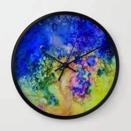the conglomerate of color Wall Clock