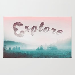 Explore the Wild. Wanderlust Rug