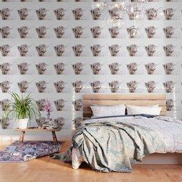HIGHLAND CATTLE PORTRAIT Wallpaper