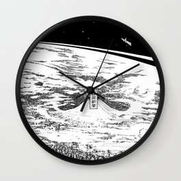 Space upon us Wall Clock
