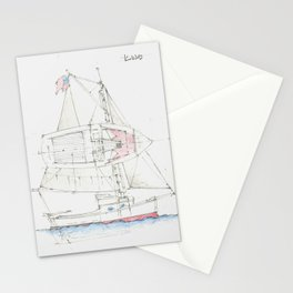 22 Ft Sloop Stationery Cards