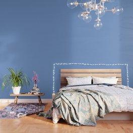 Simply Cornflower Blue Wallpaper