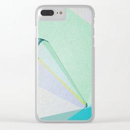 human edge #4 Clear iPhone Case