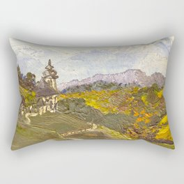 Alpine Autumn Rectangular Pillow