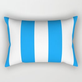 Retro 60s Surf Stripe Rectangular Pillow