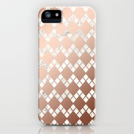 Copper & Marble 03 iPhone Case