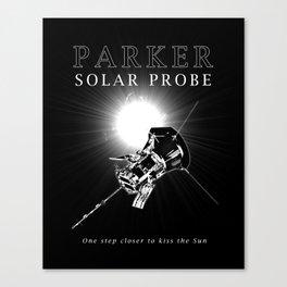 Parker Solar Probe - Sun -Science - Astronomy - Space Canvas Print