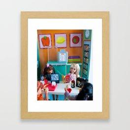 Ana's Lunch Framed Art Print