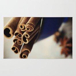 Cinnamon sticks and star anise Rug