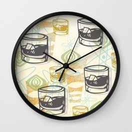 Dad Is Home 1954 Wall Clock