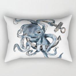 Seven Paw Octopus Rectangular Pillow