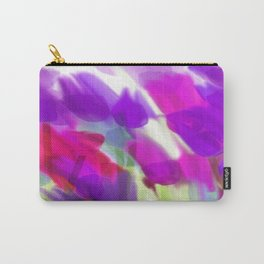Meadow Flowers Abstract 2 Carry-All Pouch