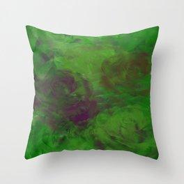 Botenique Verte Throw Pillow