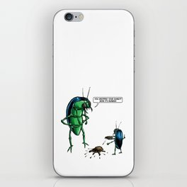 Dung Beetles iPhone Skin