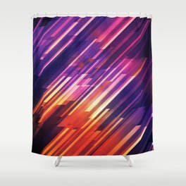 PONG - Pattern Shower Curtain