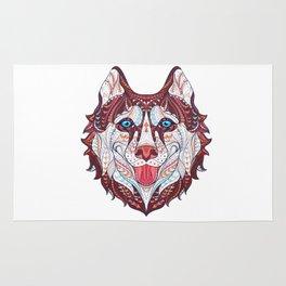 Husky Design Rug