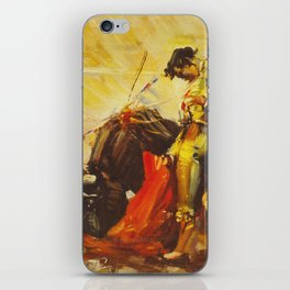 Vintage Mexico Bullfighting Travel iPhone Skin