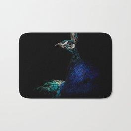 Proud Peacock Bath Mat