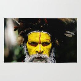 Papua New Guinea: Huli Wigman Rug