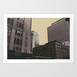 Corners 2 Art Print