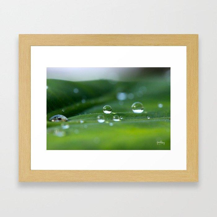 Perfect sphere Framed Art Print