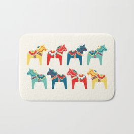 Swedish Horses Bath Mat