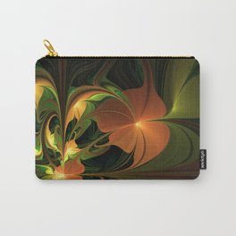 Fantasy Plant, Abstract Fractal Art Carry-All Pouch