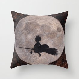Kiki's Delivery Service Throw Pillow