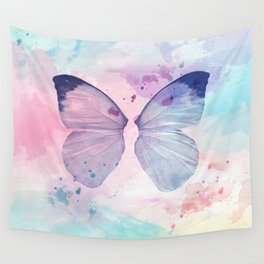 Abstract Butterfly Wall Tapestry