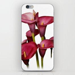 Purple Calla Lilies iPhone Skin