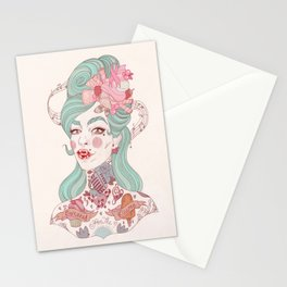 2015 Bands for Boobs Design by Liz Clements Stationery Cards