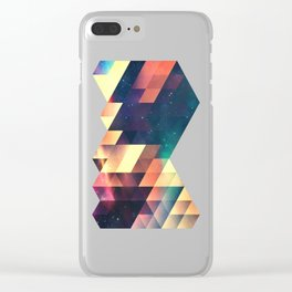 thyss lyyts Clear iPhone Case