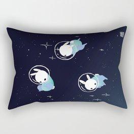 Space Bunnies Rectangular Pillow