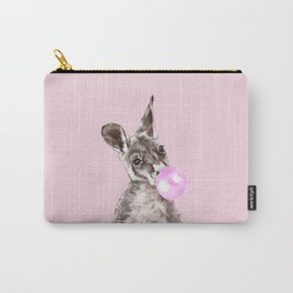Bubble Gum Baby Kangaroo Carry-All Pouch