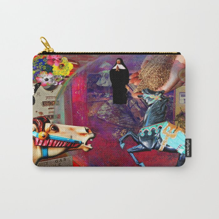 Fossil Fuel Cemetery Carry-All Pouch