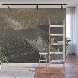 concrete sunshine triangle arrow Wall Mural