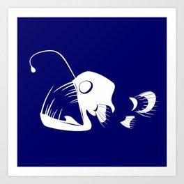 Deep Sea Fish Art Print