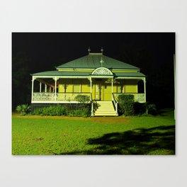 Wynnum Shire Clerk's Cottage Canvas Print