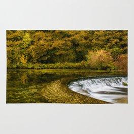 Autumn on the River Lathkill Rug