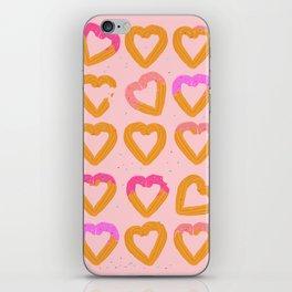 Churro Hearts iPhone Skin