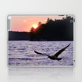 Fly into the Sunset Laptop & iPad Skin